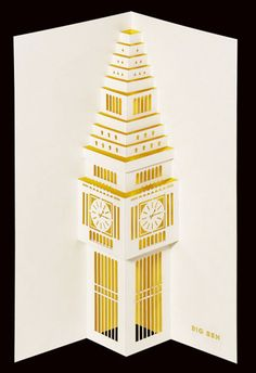 I like these 3D paper-cut greeting cards, which show the capital's landmarks in a new light.