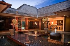 luxury tropical home plans - Google Search