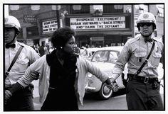 BRUCE DAVIDSON USA. Birmingham, Alabama. 1963. Arrest of a demonstrator