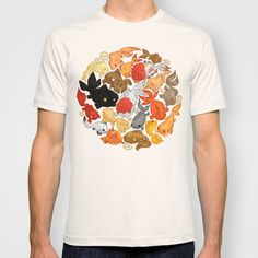 For The Love Of Goldfish T-shirt by Amz Kelso - $18.00