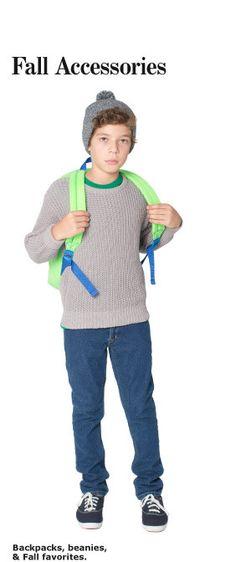 American Apparel KIDS- Fall Accessories