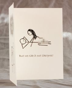 Funny Mature Adult Dirty Naughty Cute Love Greeting Card for birthday, valentines, anniversary - pros on Etsy, $5.00