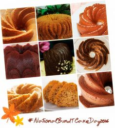 National Bundt Cake Day - Recipes