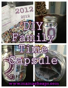 MamaCheaps.com: Family Time Capsule Jars for New Year's with FREE Printable Kid Survey
