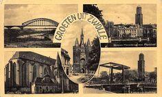 Ansichtkaarten Zwolle (jaartal: 1950 tot 1960) - Foto's SERC