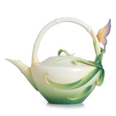 Franz Porcelain Tea Pot - Franz Porcelain Peace and Harmony Bamboo Collection teapot