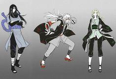 Naruto: Jiraiya , Tsunade , Orochimaru