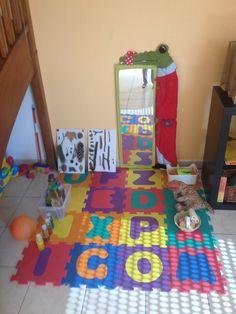 Espaço sensorial para os menores
