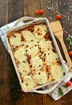 lasagne fromage gratin