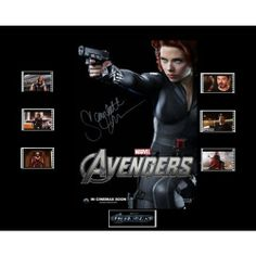 Avengers Film Cell Presentation  Black by Everythingbutthatcom, £9.99