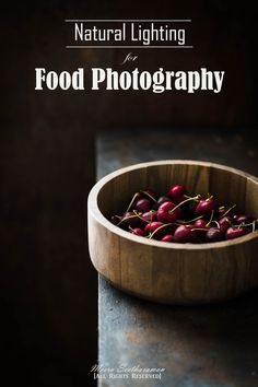 Natural Lighting for Food Photography #naturephotography