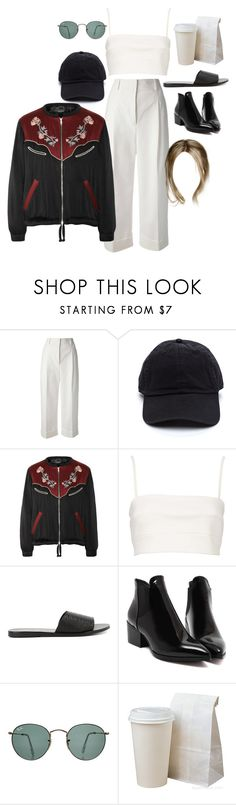 """""""saying goodbye for my trip"""" by stylistcookies ❤ liked on Polyvore featuring 3.1 Phillip Lim, Isabel Marant, Witchery, Ancient Greek Sandals and Ray-Ban"""