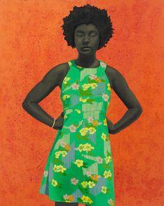 "Amy Sherald da IL RAMO D'ORO ""Pittori - Painters"" https://ilramodoro-katyasanna.blogspot.it/2013/11/pittori-painters.html"