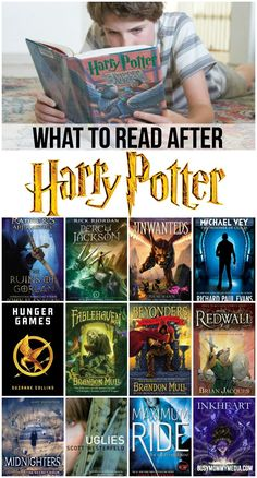Harry potter book series online reading