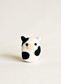 needle felted cow - Google Search