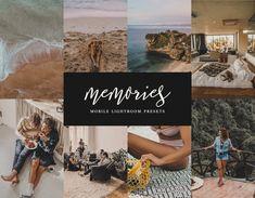 Memories Love 8 Mobile & Desktop Lightroom Presets, Nostalgic Preset, Instagram Filters, Bohemian Presets, Influencer Preset, IG Filters Lightroom Effects, Lightroom Presets, Ui Design Inspiration, Design Competitions, Art Market, Beautiful World, Landscape Photography, Filters, Travelling
