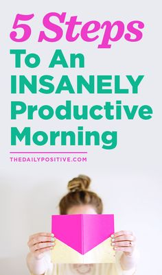 Daily positive + productivity
