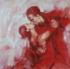 Nothing great in the world has been accomplished without passion..  artist: Renata Brzozowska