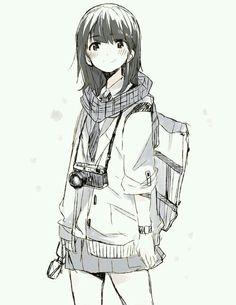 Imagen de anime, anime girl, and manga