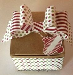 Designer Bow  Decorated Gift Box
