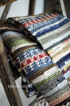 traditional scandinavian rag weaving - Google Search