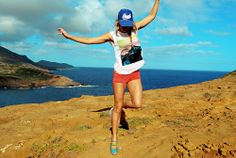 @Rebekah Steen getting outdoors in Maui!