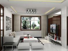Arredare un open space cucina soggiorno moderno 03 | Interior ...