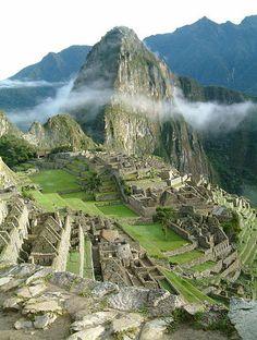 Machu Picchu #Peru #NewSevenWonders