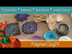 Polymer Clay TV & Polymer Clay Productions: New metallic gilding wax surface effects for polymer clay artwork and jewelry projects