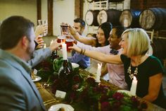 Brewery Wedding | Cheers | Thanksgiving | Organic Details | Farm to Table | Barrel Aged | Craft Beer | Farm Table