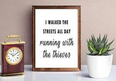 Personalised Wall Art, Home Decor, Inspirational Quote, Motivational Quote, … – new years quotes Quotes About New Year, Year Quotes, Positive Quotes, Motivational Quotes, Inspirational Quotes, Quote Prints, Wall Prints, Style Lyrics