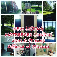 NEW LISTING ALERT!!! THE SEARCYTEAM PRESENTS WATERPARK CONDOS SUITE 203. OFFERED AT $70000. PLEASE NOTE SPECIAL OPEN HOUSE TIMES SEPT 12TH 14TH AND 16TH 4:30PM TO 6PM. Agents come on by with your clients.. public also welcome!! Call text or message Hannah Searcy with any questions :) 4024325557 #Searcyteam #newlisting #condo #lnk #lincolnzoo #sunkengardens #bikepaths #realestate #openhouse https://www.instagram.com/p/BKJXNGxhn4d/ via http://www.SearcyTeam.com