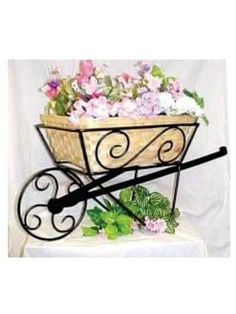 Decorate Your House, Patio, Or Garden With Long Lasting Wrought Iron Ornamental Products That Save You Lots Of Money At Your Metal Specialty Shop Flower Planters, Flower Pots, Wrought Iron Decor, Flower Cart, Wall Decor Design, House Plants Decor, Steel Art, Diy Plant Stand, Iron Furniture