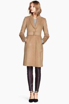 Manteau en laine mélangée | H&M 79,99€