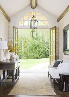 greige: interior design ideas and inspiration for the transitional home by christina fluegge: open doors..