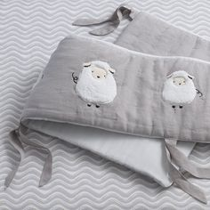 Signature Goodnight Sheep 4-Piece Crib Bumper