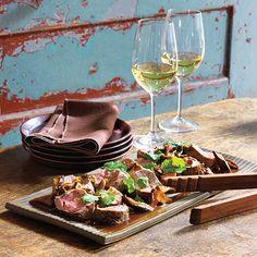 Dining Tip: Savory Pork Tenderloin With Shiitake Mushrooms   Dining Tips   News & Features   Wine Spectator