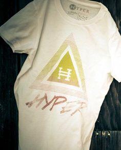Hyper Girls Pyramid Tee - Martial Arts Athlete Apparel | Hyper Martial Arts