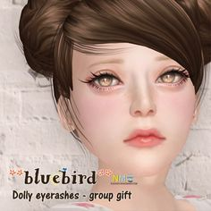 Bluebird Catwa And 6DOO Group Gifts Group gifts from bluebird: Catwa dolly eyelashes and 6DOO dolly eyelashes. Plus lucky boards for cute freckles (no group). [...]