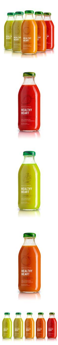 Healthy-heart Juice Packaging: