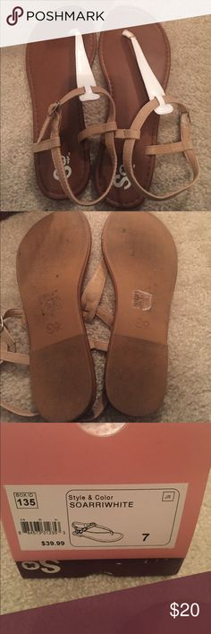SO Brand Sandals SO Brand Sandals.  Only worn a few times.  Plenty of wear left in these beauties! SO Shoes Sandals