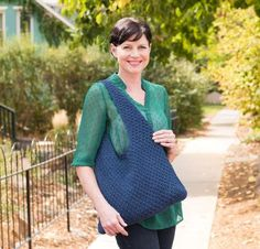 You can meet this Craftsy-exclusive project kit at the corner of sturdy and stylish! The Crochet Bag Kit includes a pattern and all the Schachenmayr Catania Grande yarn you need to work up a fun accessory that will stand up well to wear and tear. Featuring ample storage space, this purse makes a great travel partner or a reliable carry-all for those with little ones.