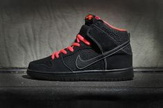 official photos e0aa2 bcf10 Nike SB Dunk High Pro Black Atomic Red