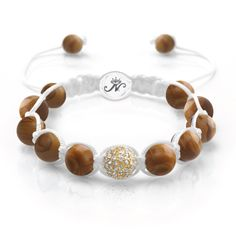 Moonstone | Wooden Line Jasper - The MoonStone Kikiballas are carefully crafted from semi-precious stones and can be easily adjusted to fit most any wrist size. - See more at: http://www.josephnogucci.com/collections/crystal-kikiballa-collection/products/moonstone-wooden-line-jasper