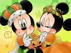mickey and minnie halloween resort   Disney Cast: Mickey e Minnie - Parte 11