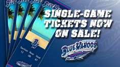 You can now purchase single game tickets!