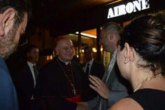 Saluto al Cardinale all'hotel Airone