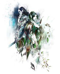 Guild Wars 2 Sylvari Concept
