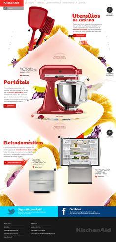 Kitchen Aid / Sandro Fogaccio / #colorful #light #food
