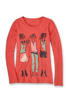 Esprit / T-shirt en coton/Lycra®